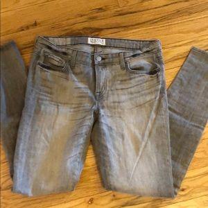 Elizabeth and James Textile Grey Jeans. Size 31